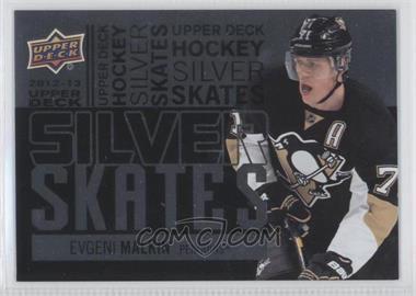 2012-13 Upper Deck - Silver Skates #SS23 - Evgeni Malkin