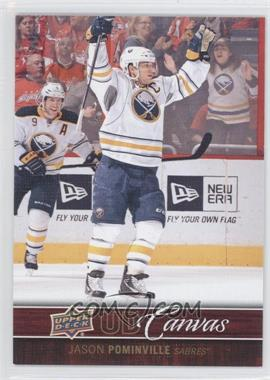 2012-13 Upper Deck - UD Canvas #C13 - Jason Pominville