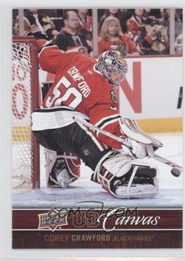 2012-13 Upper Deck - UD Canvas #C22 - Corey Crawford