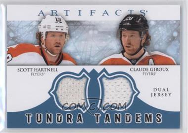 2012-13 Upper Deck Artifacts - Tundra Tandems Dual Jerseys - Blue #TT-HG - Scott Hartnell, Claude Giroux