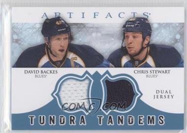 2012-13 Upper Deck Artifacts Tundra Tandems Dual Jerseys Blue #TT-BS - [Missing]