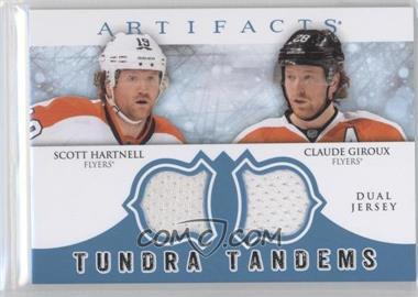 2012-13 Upper Deck Artifacts Tundra Tandems Dual Jerseys Blue #TT-HG - Scott Hartnell, Claude Giroux