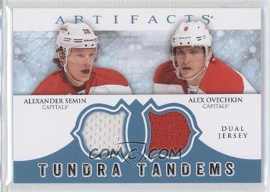 2012-13 Upper Deck Artifacts Tundra Tandems Dual Jerseys Blue #TT-SO - Alexander Semin, Alex Ovechkin