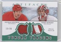 Nicklas Lidstrom, Jimmy Howard /36