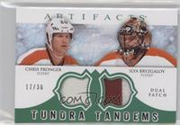 Chris Pronger, Ilya Bryzgalov /36