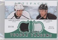 Jeff Carter, Mike Richards /36
