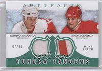 Brendan Shanahan, Dino Ciccarelli /36