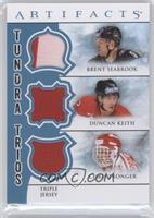 Duncan Keith, Chris Pronger, Brent Seabrook