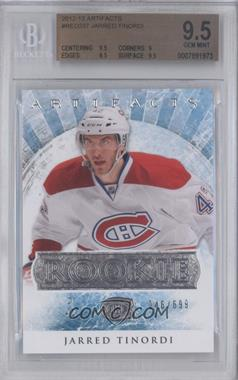 2012-13 Upper Deck Artifacts #RED237 - Jarred Tinordi /699 [BGS 9.5]