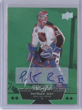 2012-13 Upper Deck Black Diamond Emerald #220 - Quad Diamond NHL All-Star - Patrick Roy /10