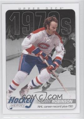2012-13 Upper Deck Hockey Heroes 1970s #HH34 - Larry Robinson