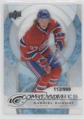 2012-13 Upper Deck Ice #28 - Gabriel Dumont /999