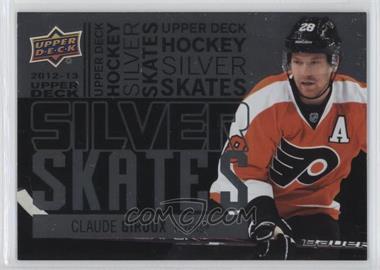 2012-13 Upper Deck Silver Skates #SS22 - Claude Giroux