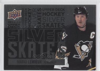 2012-13 Upper Deck Silver Skates #SS37 - Mario Lemieux