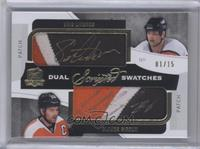 Issued in 14-15 Cup - Eric Lindros, Claude Lemieux /15