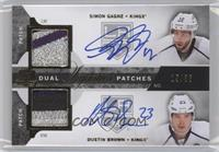 Simon Gagne, Dustin Brown /35