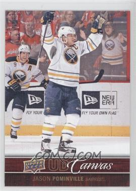 2012-13 Upper Deck UD Canvas #C13 - Jason Pominville