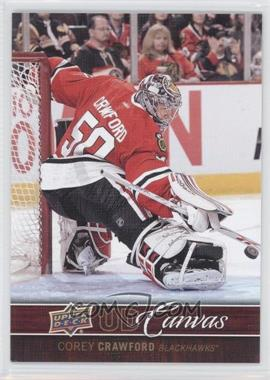 2012-13 Upper Deck UD Canvas #C22 - Corey Crawford