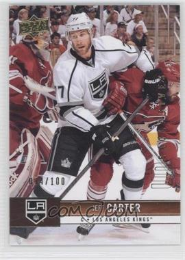 2012-13 Upper Deck UD Exclusives #80 - Jeff Carter /100
