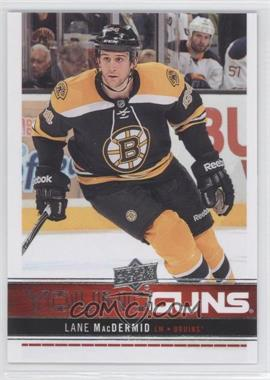 2012-13 Upper Deck #204 - Lane MacDermid