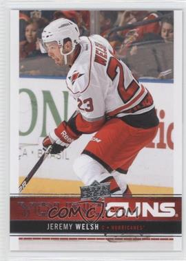 2012-13 Upper Deck #210 - Jeremy Welsh