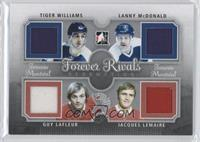 Tiger Williams, Lanny McDonald, Guy Lafleur, Jacques Lemaire /19