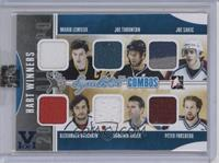 Mario Lemieux, Joe Thornton, Joe Sakic, Alex Ovechkin, Dominik Hasek, Peter For…