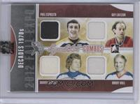 Phil Esposito, Guillaume Latendresse /9