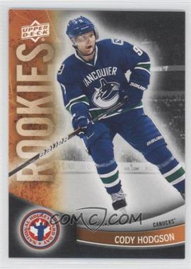 2012 Upper Deck National Hockey Card Day - Canadian #1 - Cody Hodgson