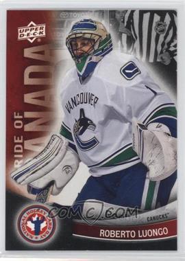 2012 Upper Deck National Hockey Card Day - Canadian #8 - Roberto Luongo