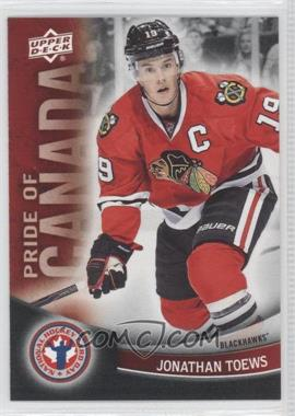 2012 Upper Deck National Hockey Card Day Canadian #10 - Jonathan Toews