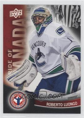 2012 Upper Deck National Hockey Card Day Canadian #8 - Roberto Luongo