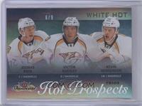 Hot Prospects Trios - Kevin Henderson, Joonas Rask, Victor Bartley /9