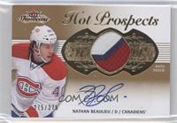 Hot Prospects Auto Patch Tier 1 - Nathan Beaulieu /375