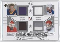 Brett Hull, Mark Messier, Ed Belfour, Chris Osgood /1