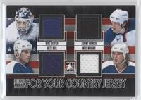 Mike Richter, Jeremy Roenick, Brett Hull, Mike Modano /85