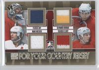 Patrick Roy, Ray Bourque, Mark Messier, Theoren Fleury /1