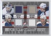 Mike Richter, Jeremy Roenick, Brett Hull, Mike Modano /1