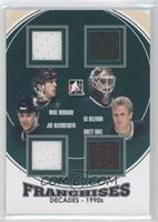 Mike Modano, Ed Belfour, Joe Nieuwendyk, Brett Hull /95