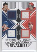 Bill Ranford, Mark Messier, Theoren Fleury, Al MacInnis