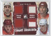 Chris Chelios, Bob Probert, Darren McCarty