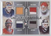 Curtis Joseph, Patrick Roy, Chris Osgood, Guy Hebert /9