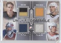 Pavel Bure, Patrick Roy, Mario Lemieux, Mark Messier