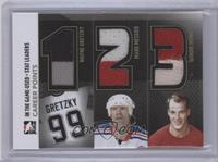 Career Points (Wayne Gretzky, Mark Messier, Gordie Howe)