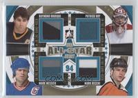 Ray Bourque, Patrick Roy, Mark Messier, Mark Recchi