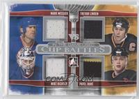 Mark Messier, Mike Richter, Trevor Linden, Pavel Bure
