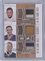 Glenn Hall, Terry Sawchuk, Johnny Bower /1