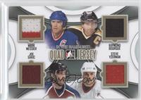Mark Messier, Ray Bourque, Joe Sakic, Steve Yzerman