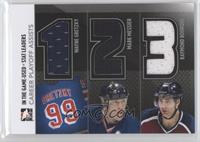 Wayne Gretzky, Mark Messier, Ray Bourque /60
