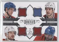 Colby Armstrong, P.K. Subban, Andrei Markov, Lars Eller /50
